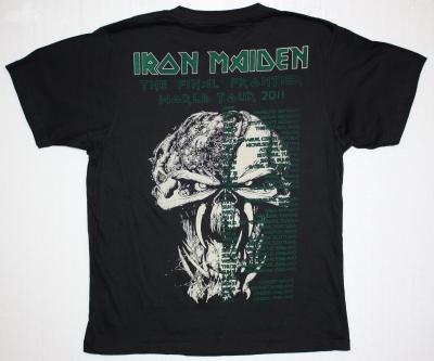 IRON MAIDEN HEAD TOUR 2011 NEW RARE T-SHIRT