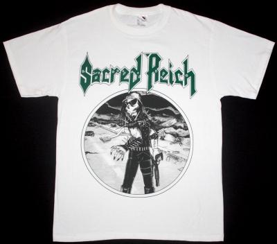 SACRED REICH WARRIOR NEW WHITE T-SHIRT