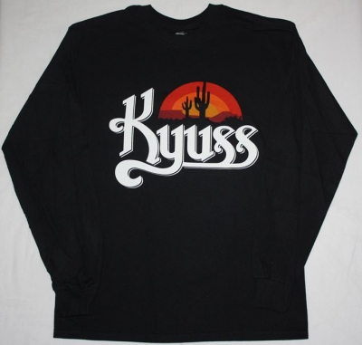 KYUSS BLACK WIDOW  S-XXL LONG SLEEVE T-SHIRT