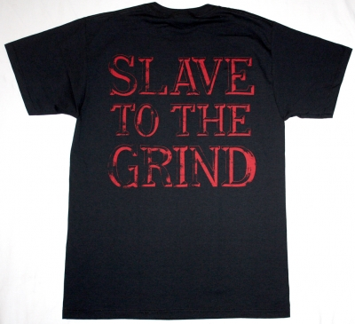 SKID ROW SLAVE TO THE GRIND '91 NEW BLACK T-SHIRT
