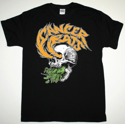 CANCER BATS SKULL NEW BLACK T-SHIRT