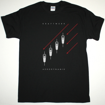 KRAFTWERK AERODYNAMIK NEW BLACK T-SHIRT