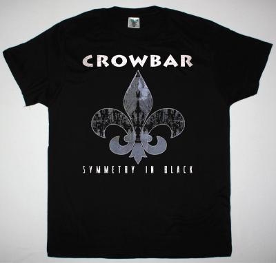 CROWBAR SYMMETRY IN BLACK NEW BLACK T-SHIRT