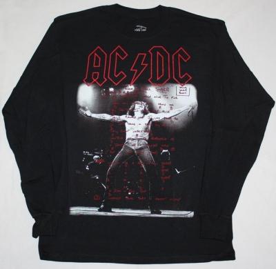 AC DC BON SCOTT IF YOU WANT BLOOD AC/DC LONG SLEEVE T-SHIRT