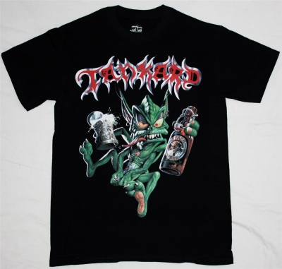 TANKARD ALIEN 89 NEW BLACK T-SHIRT