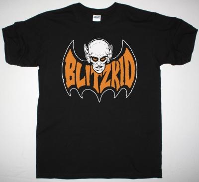 BLITZKID TEENAGE BAT NEW BLACK T SHIRT