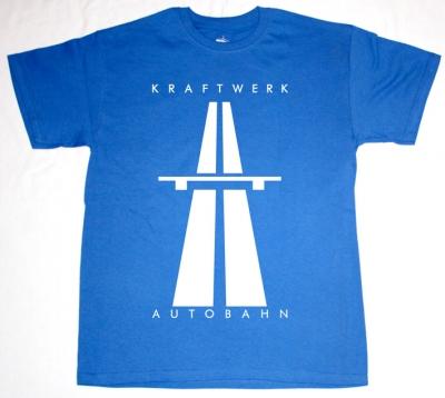 KRAFTWERK AUTOBAHN'74 NEW ROYAL BLUE T-SHIRT