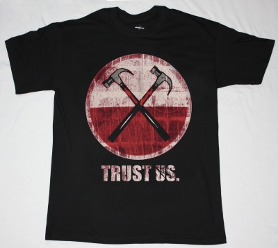 ROGER WATERS TRUST US  NEW BLACK T-SHIRT