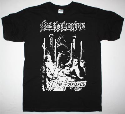 PESTILENCE THE PENANCE 1986 NEW BLACK T SHIRT