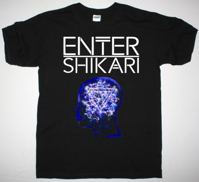 ENTER SHIKARI MINDSWEEP NEW BLACK T SHIRT