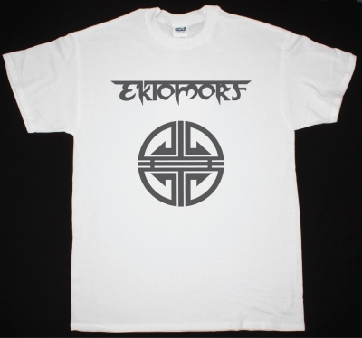 EKTOMORF LOGO NEW WHITE T-SHIRT
