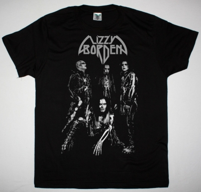 LIZZY BORDEN BAND NEW BLACK T SHIRT