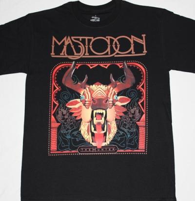 MASTODON THE HUNTER NEW BLACK T-SHIRT