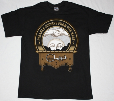 CLUTCH STRANGE COUSINS FROM THE WEST NEW BLACK T-SHIRT