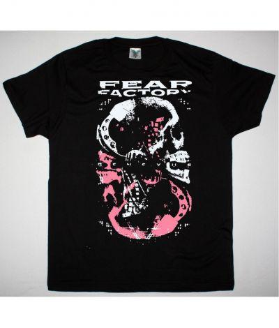 FEAR FACTORY GENEXUS SKULL NEW BLACK T SHIRT