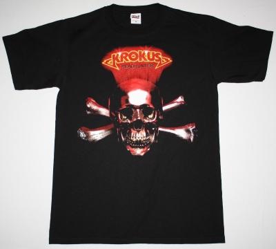 KROKUS HEADHUNTER 83 NEW BLACK T-SHIRT