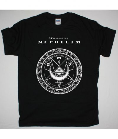 FIELDS OF THE NEPHILIM 2009 LOGO NEW BLACK T SHIRT