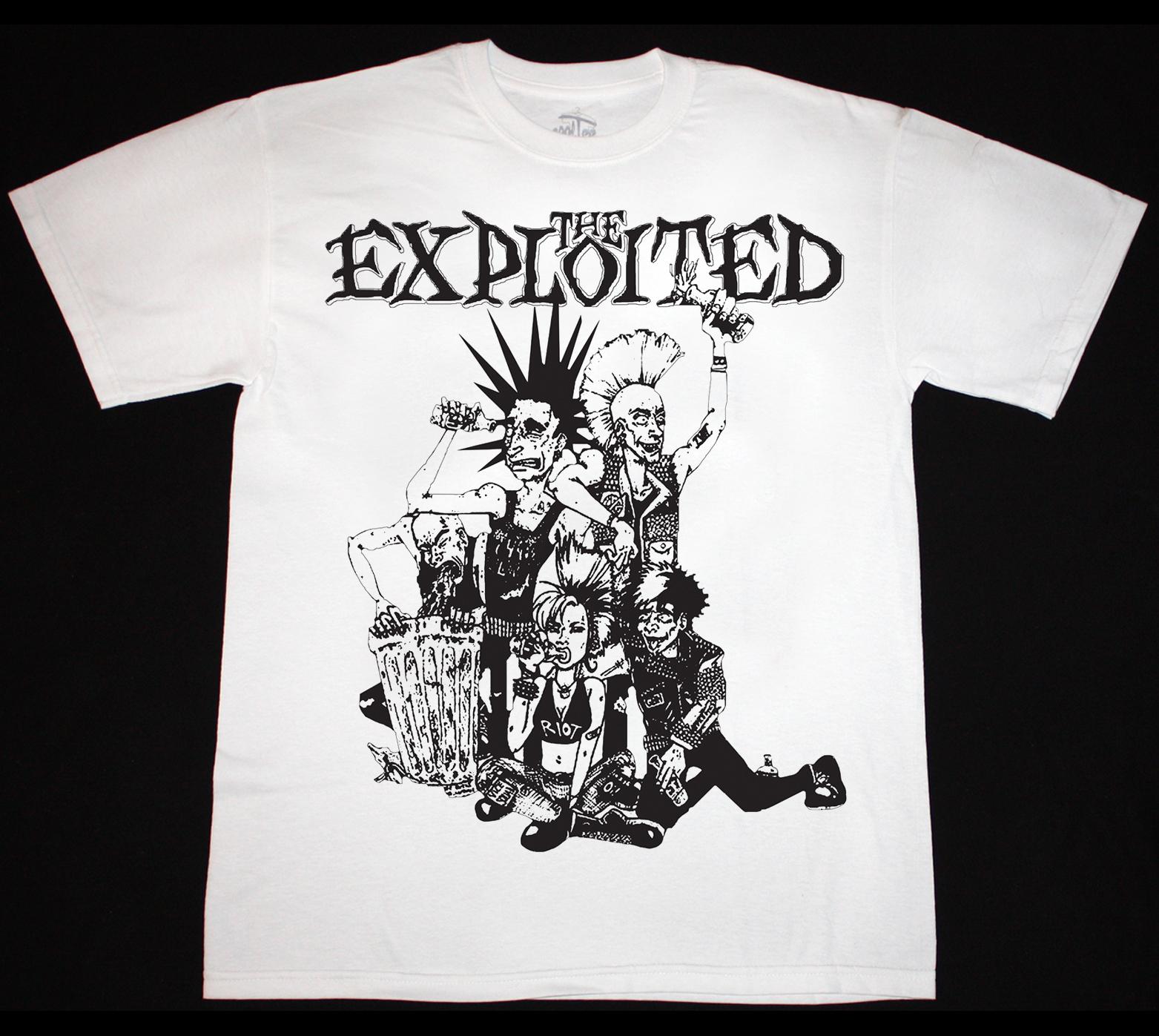The Exploited /'LET/'S START A WAR/' discharge gbh NEW T Shirt Official Merch