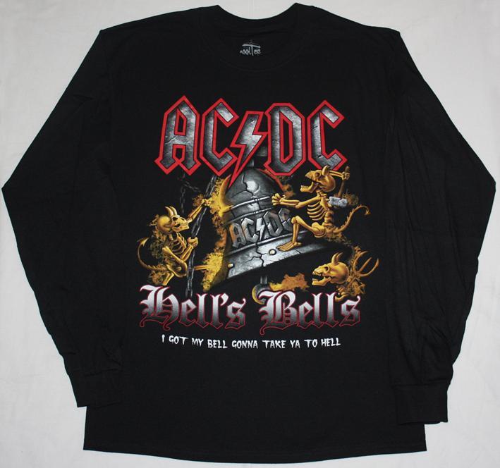 AC//DC Hells Bells T-Shirt black