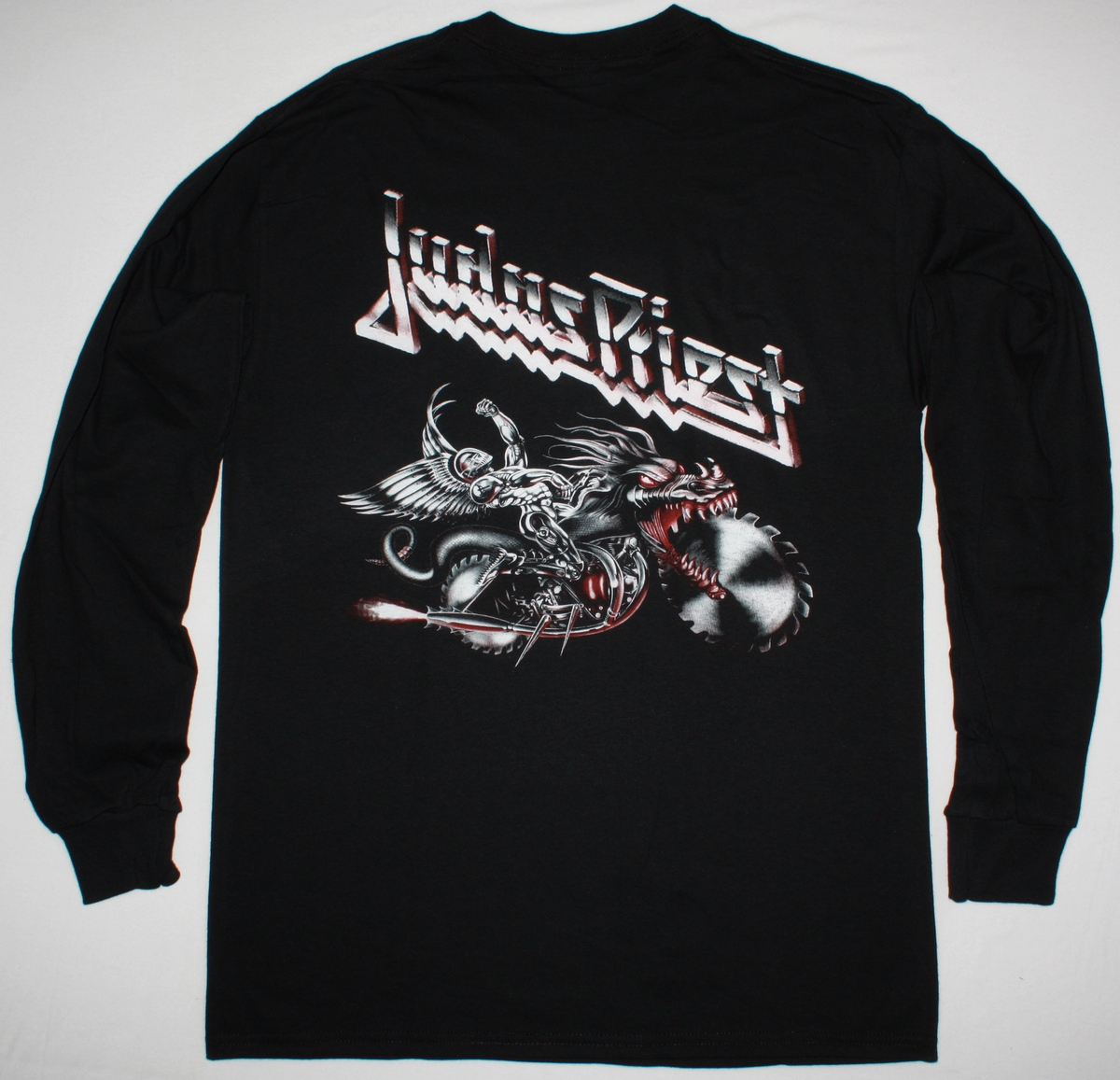 JUDAS PRIEST PAINKILLER'90 NEW BLACK LONG SLEEVE T-SHIRT