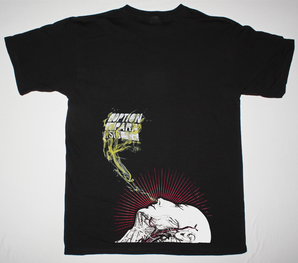 THE DILLINGER ESCAPE PLAN LOGO HAND NEW BLACK T-SHIRT