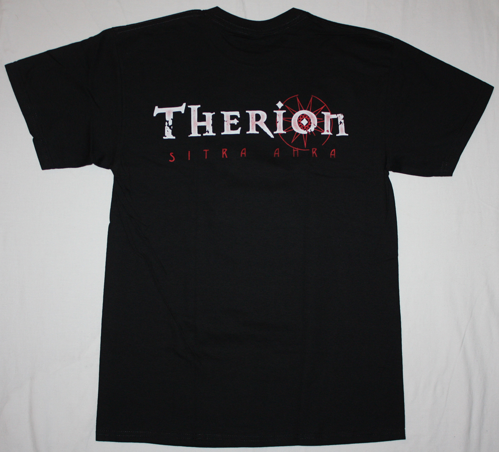 THERION SITRA AHRA'10 NEW BLACK T-SHIRT