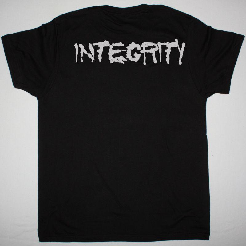 INTEGRITY SKULL NEW BLACK T SHIRT