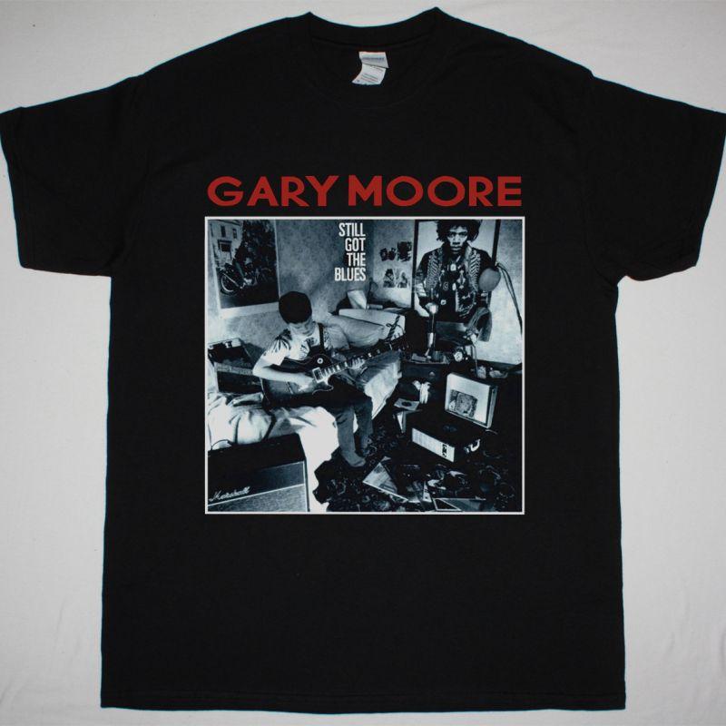 GARY MOORE STILL GOT THE BLUES NEW BLACK T-SHIRT