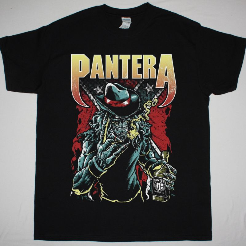 PANTERA COWBOY NEW BLACK T-SHIRT