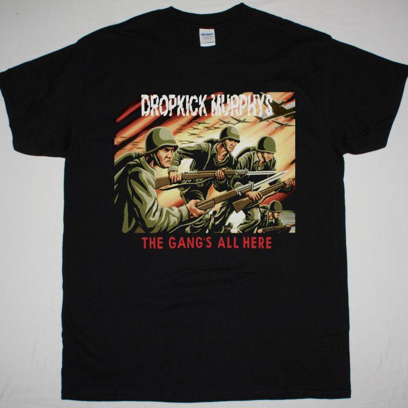 DROPKICK MURPHYS THE GANG'S ALL HERE NEW BLACK T SHIRT