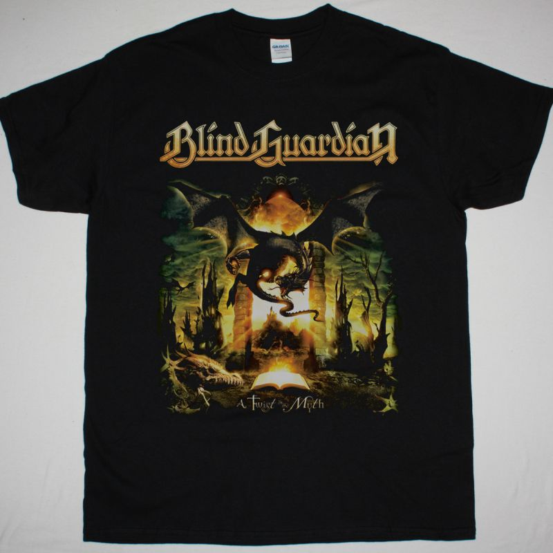 BLIND GUARDIAN A TWIST IN THE MYTH NEW BLACK T-SHIRT