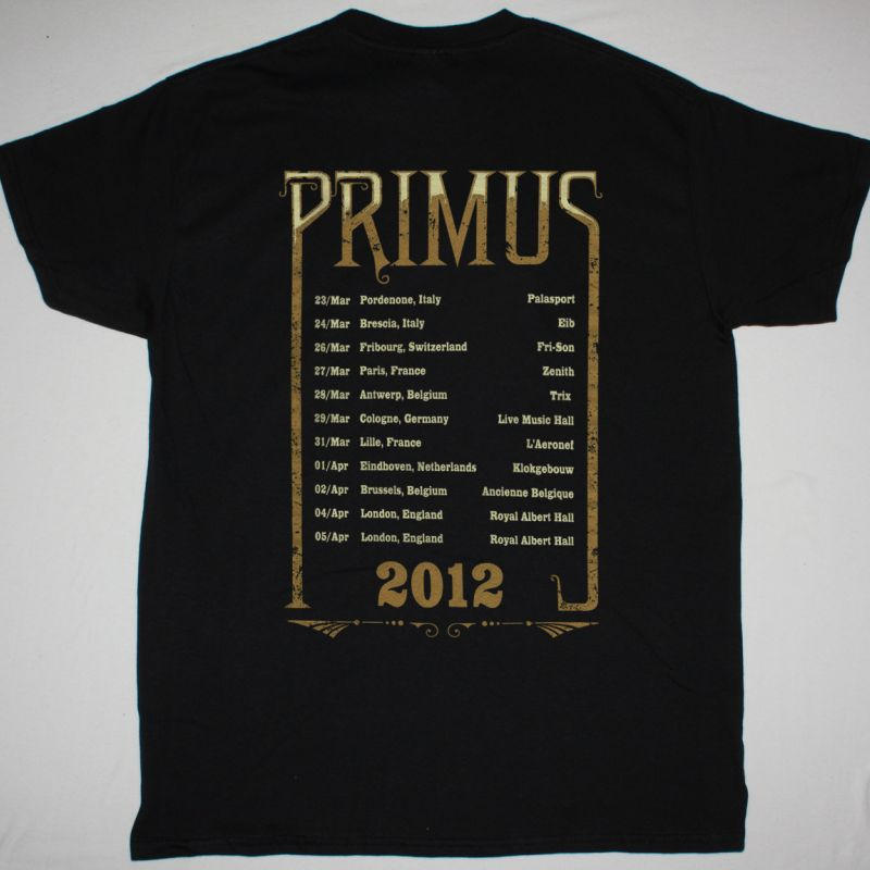 PRIMUS ASTRO MONKEY NEW BLACK T-SHIRT