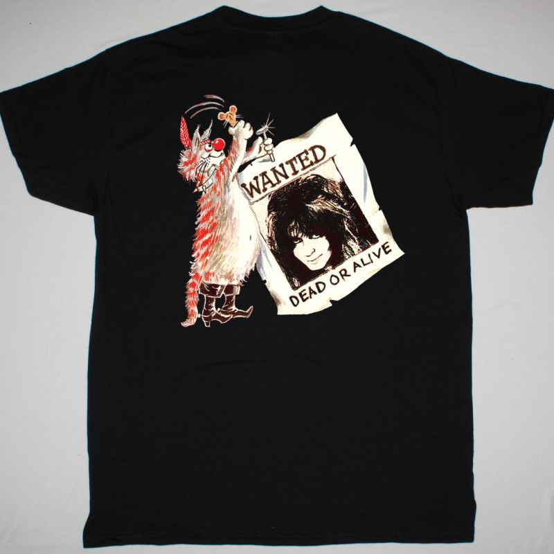 W.A.S.P. BLIND IN TEXAS NEW BLACK T-SHIRT