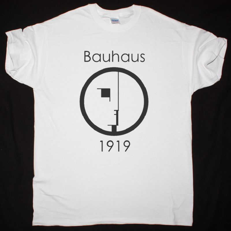 BAUHAUS 1919 NEW WHITE T-SHIRT