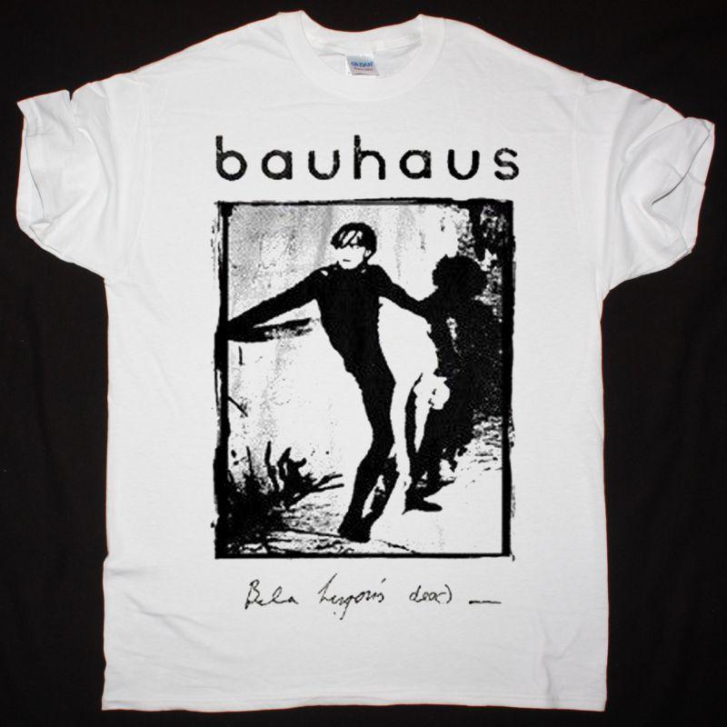 BAUHAUS BELA LUGOSI'S DEAD NEW WHITE T-SHIRT