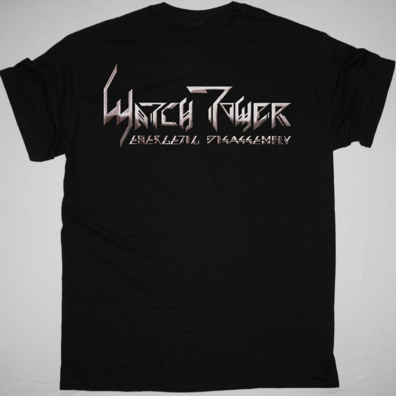 WATCHTOWER ENERGETIC DISASSEMBLY 1985 NEW BLACK T SHIRT