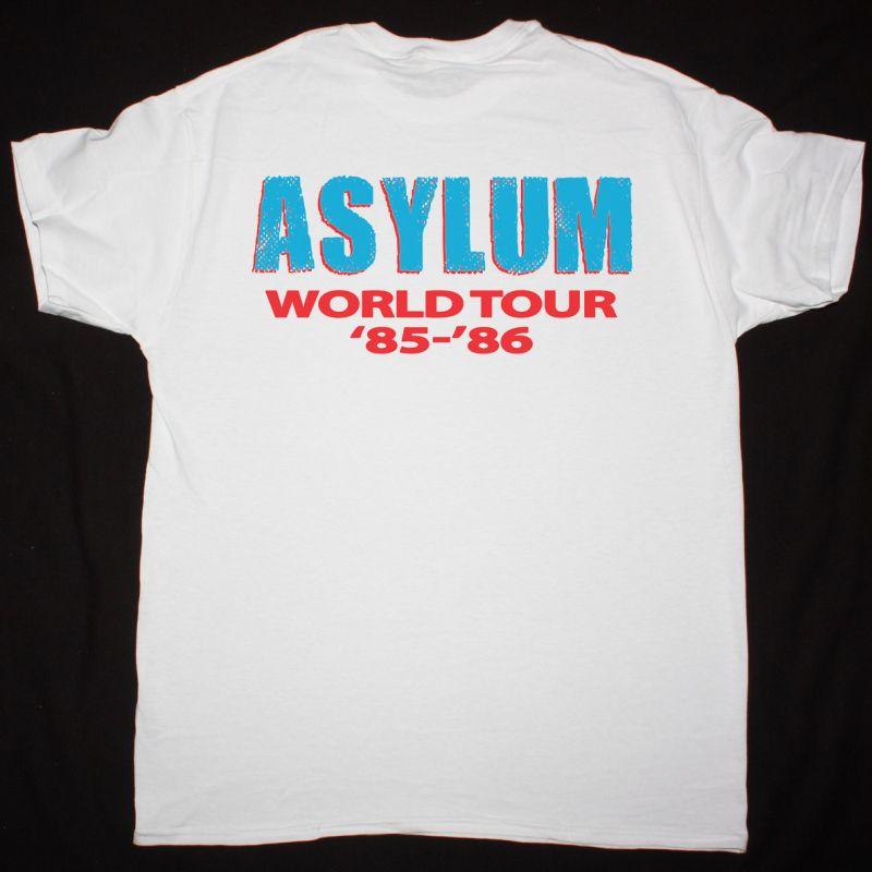 KISS ASYLUM WORLD TOUR 85-86 NEW WHITE T-SHIRT