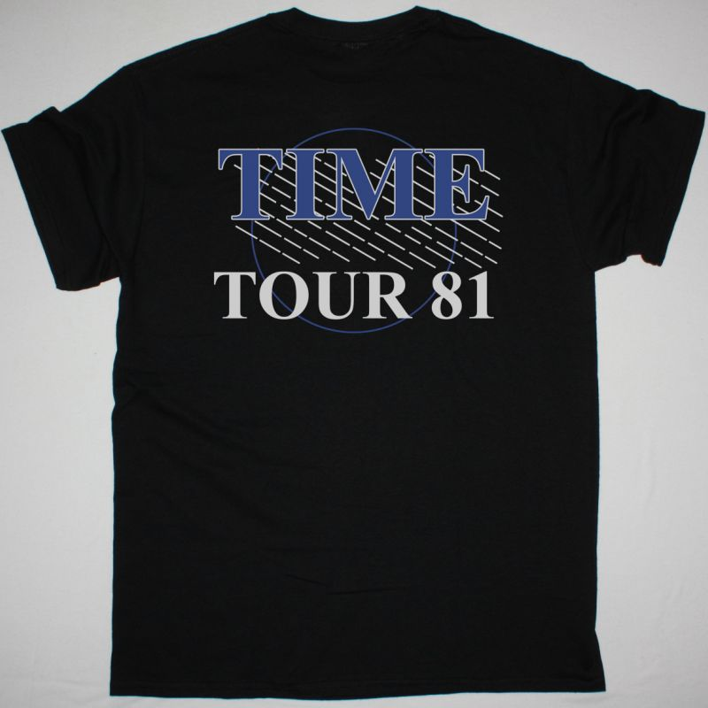 ELECTRIC LIGHT ORCHESTRA TIME NORTH AMERICAN TOUR NEW BLACK T-SHIRT