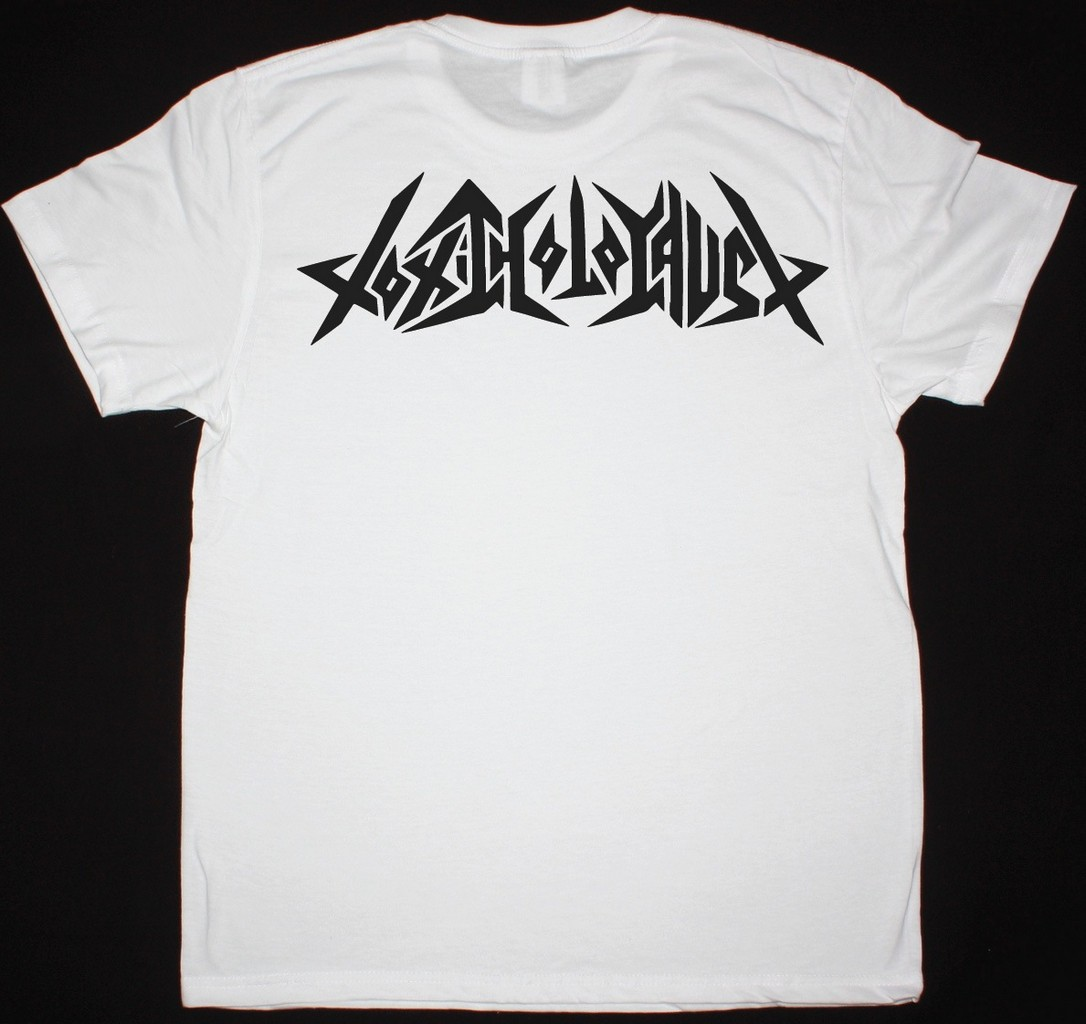 TOXIC HOLOCAUST TOXIC THRASH METAL NEW WHITE T SHIRT