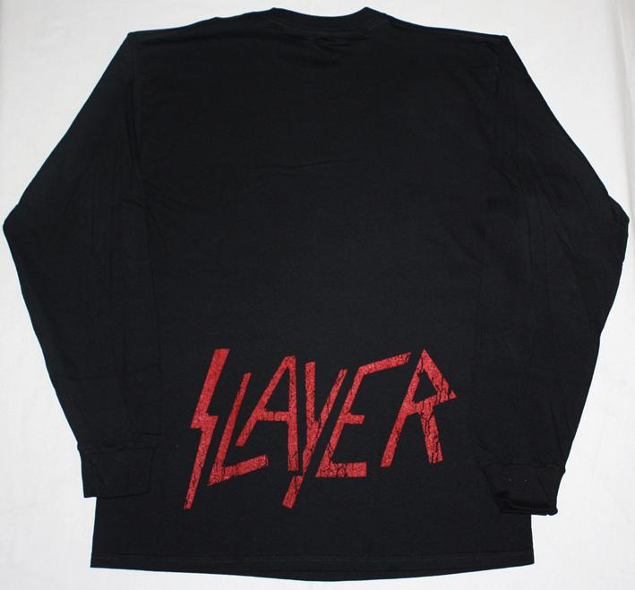 SLAYER EAGLE LONG SLEEVE T-SHIRT