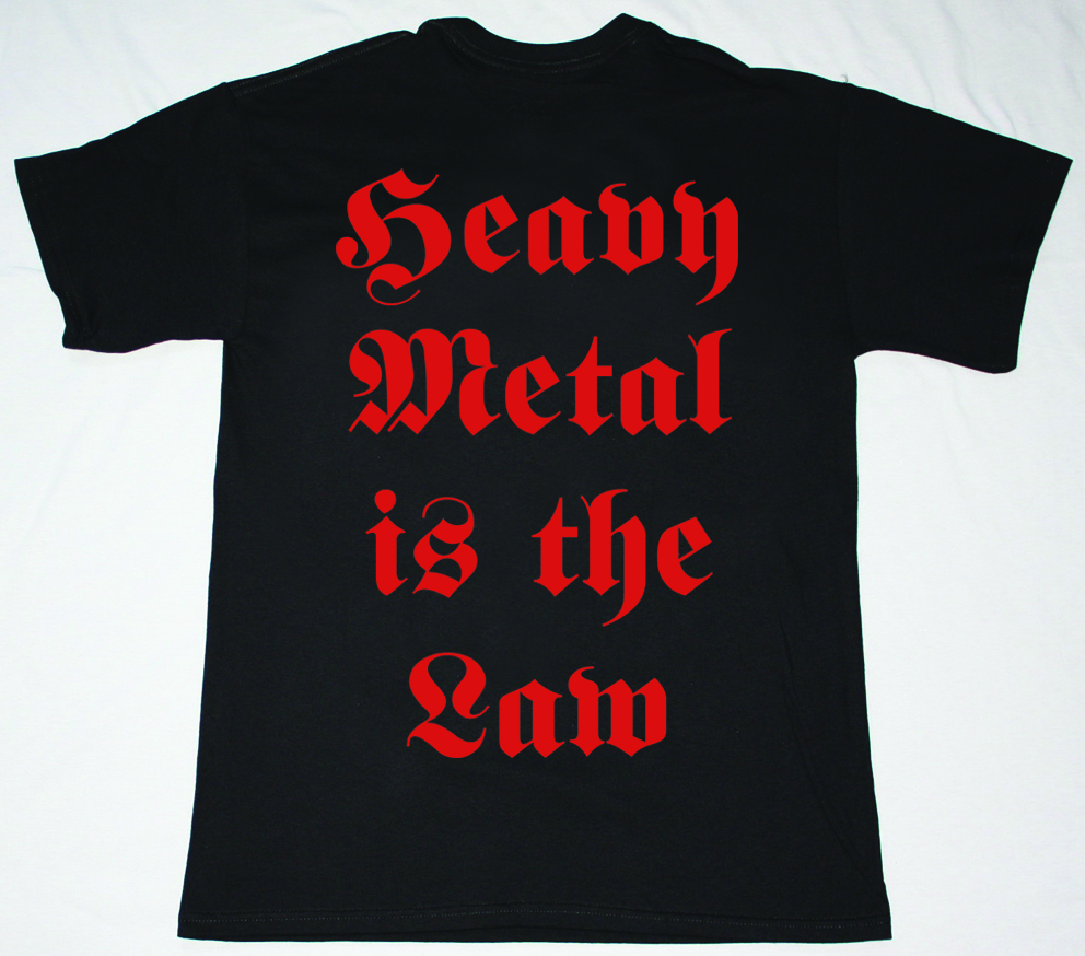 GRAVE DIGGER HEAVY METAL BREAKDOWN 84 NEW BLACK T-SHIRT