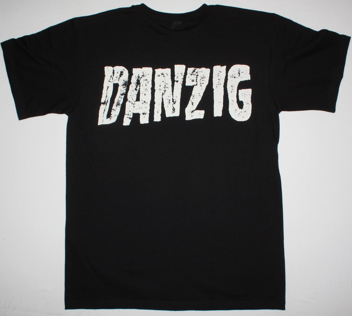 DANZIG SKULL LOGO NEW BLACK T-SHIRT