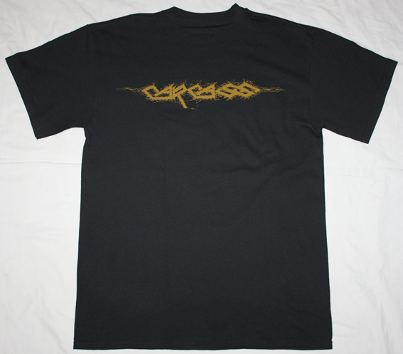 CARCASS REEK OF PUTREFACTION 2 NEW BLACK T-SHIRT