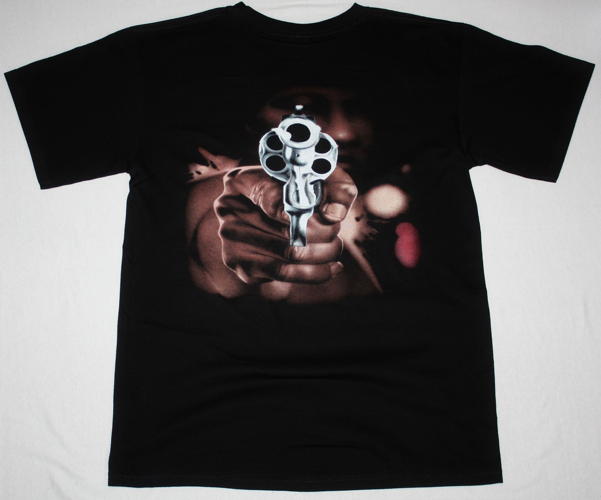BODY COUNT COP KILLER'92 NEW BLACK T-SHIRT