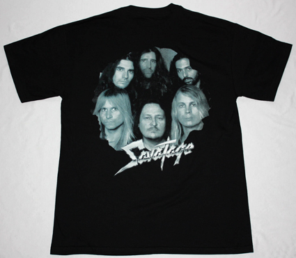 SAVATAGE DEAD WINTER DEAD'95 NEW BLACK T-SHIRT