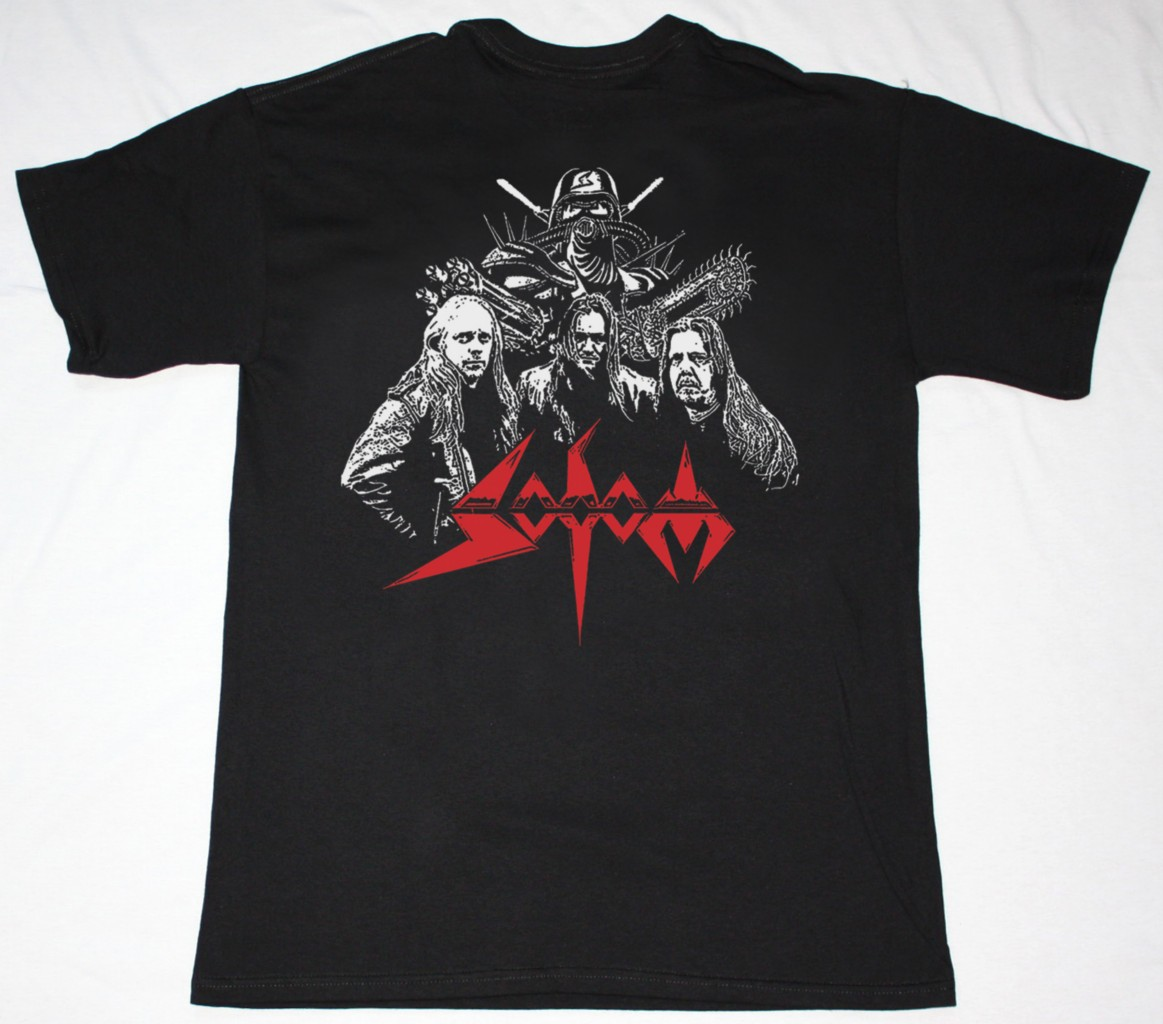 SODOM TEN BLACK YEARS NEW BLACK T-SHIRT