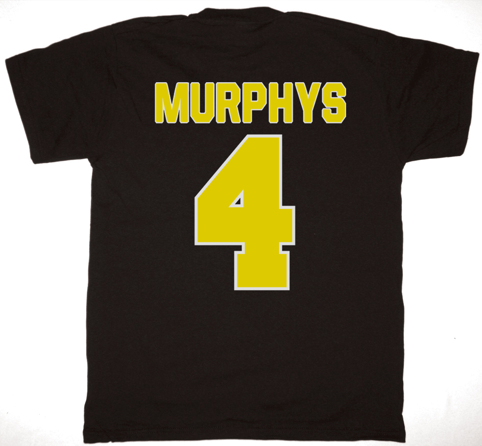 DROPKICK MURPHYS HOCKEY SKULL NEW BLACK T-SHIRT