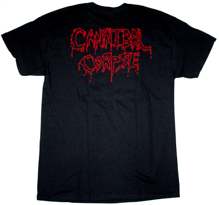 CANNIBAL CORPSE BUTCHERED AT BIRTH NEW BLACK T-SHIRT