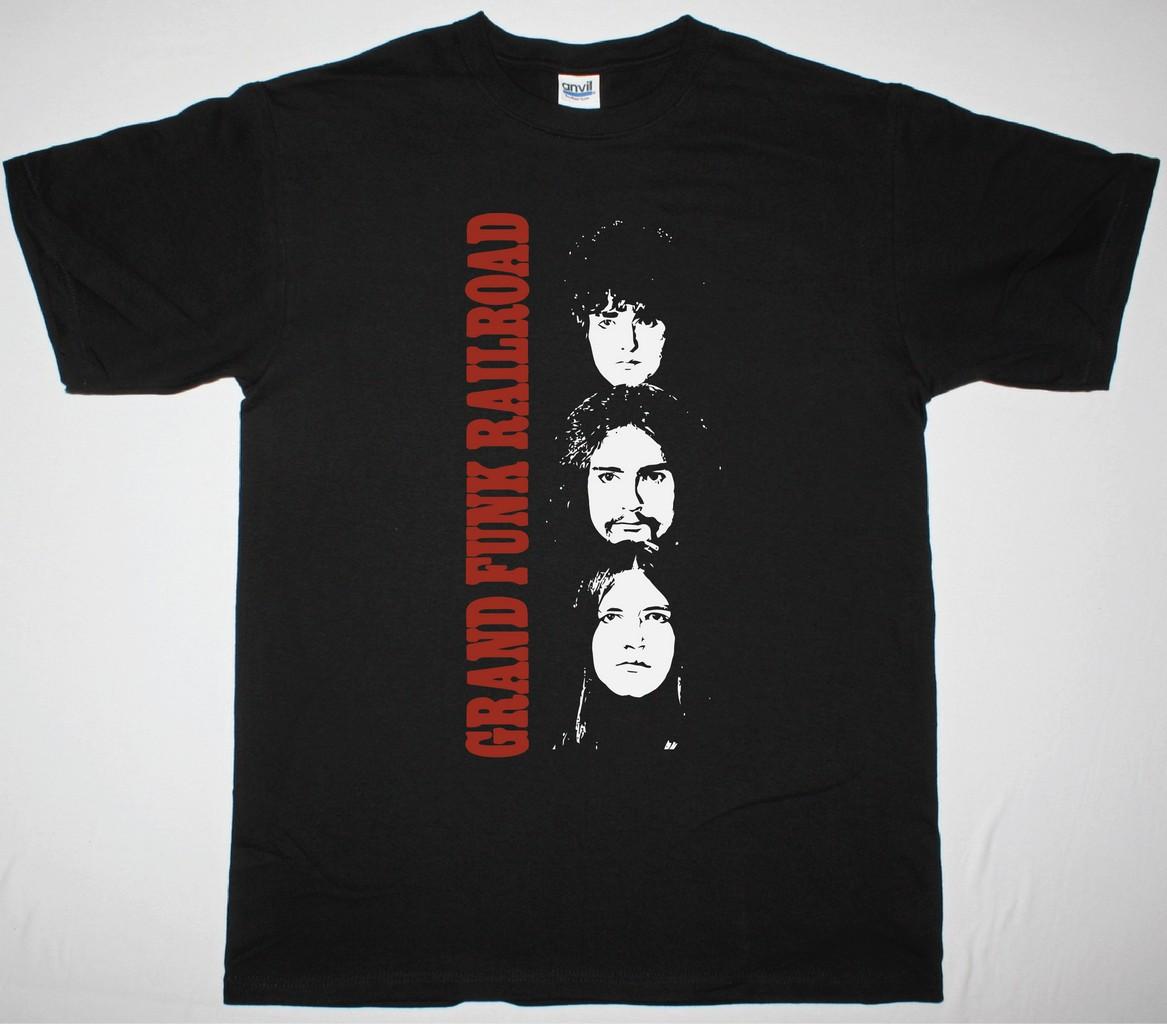 Grand Funk Railroad Closer To Home New Black T Shirt