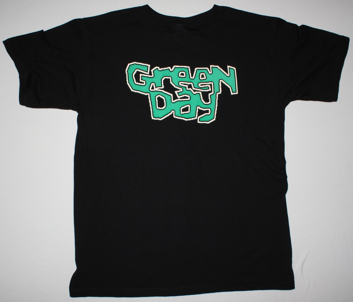 GREEN DAY BAND NEW BLACK T-SHIRT